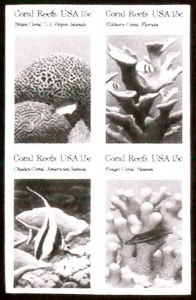 Sale Number 783, Lot Number 1181, U.S. Stamps - Columbian to Back-of-Book Issues15c Coral Reefs, Imperforate (1830b), 15c Coral Reefs, Imperforate (1830b)