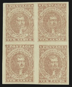 Sale Number 787, Lot Number 3370, General Issues Off Cover10c Rose (5), 10c Rose (5)
