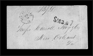 Sale Number 795, Lot Number 1469, Federal Occupation and Post-Appomattox UsagesNew Orleans La. Apr. 24, 1862, New Orleans La. Apr. 24, 1862