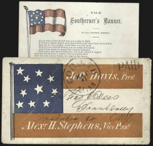 Sale Number 795, Lot Number 36, Key Dates of the ConfederacyCorinth Miss. May 31 (1861) - Last Day of United States Postal Service in the Confederacy, Corinth Miss. May 31 (1861) - Last Day of United States Postal Service in the Confederacy