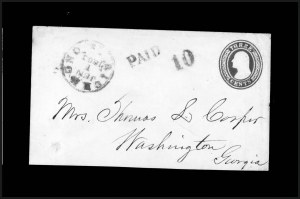 Sale Number 795, Lot Number 38, Key Dates of the ConfederacyRichmond Va. Jun. 1, 1861 - First Day of the Confederate Postal System, Richmond Va. Jun. 1, 1861 - First Day of the Confederate Postal System