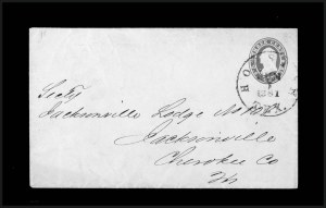 Sale Number 795, Lot Number 39, Key Dates of the ConfederacyHouston Tex. Jun. 1, 1861 - First Day of the Confederate Postal System, Houston Tex. Jun. 1, 1861 - First Day of the Confederate Postal System