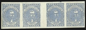 Sale Number 795, Lot Number 626, General Issues  Scott Nos. 1-510c Blue, Paterson (2), 10c Blue, Paterson (2)