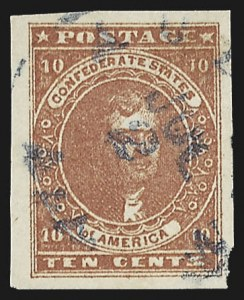 Sale Number 795, Lot Number 826, General Issues  Scott Nos. 1-510c Deep Carmine (5a), 10c Deep Carmine (5a)