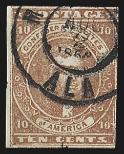 Sale Number 795, Lot Number 831, General Issues  Scott Nos. 1-510c Carmine (5a), 10c Carmine (5a)