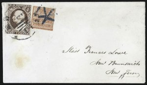 Sale Number 800, Lot Number 380, Carriers and LocalsSwarts' City Despatch Post, New York N.Y., 1c Red (136L15), Swarts' City Despatch Post, New York N.Y., 1c Red (136L15)