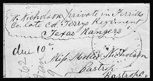 Sale Number 801, Lot Number 102, C.S.A. Post Offices in KentuckyBowling Green Ky. Jan. 19 (1862), Bowling Green Ky. Jan. 19 (1862)