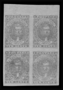 Sale Number 801, Lot Number 445, General Issues Off Cover - Nos. 1 - 1110c Light Blue, Paterson (2a), 10c Light Blue, Paterson (2a)