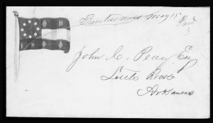 Sale Number 801, Lot Number 683, Confederate PatrioticsPrentiss Miss. May 15 Paid 3, Prentiss Miss. May 15 Paid 3