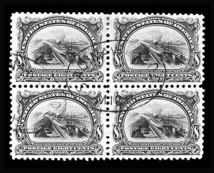 Sale Number 809, Lot Number 323, Pan-American and 1902-08 Issues 8c Pan-American (298), 8c Pan-American (298)