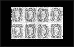 Sale Number 810, Lot Number 2240, Official and Private Perforations10c Blue, Die A, Perforated (11e), 10c Blue, Die A, Perforated (11e)