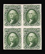 Sale Number 816, Lot Number 1281, 1861-66 Issue Plate Proofs - sets and 1c-3c3c-90c 1861-66 Issue, Plate Proofs on India (62BP3/77P3), 3c-90c 1861-66 Issue, Plate Proofs on India (62BP3/77P3)