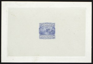 Sale Number 816, Lot Number 1445, 10c 1869 Pictorial Issue Essays10c Blue, Large Die Essay on India (116-E2a), 10c Blue, Large Die Essay on India (116-E2a)