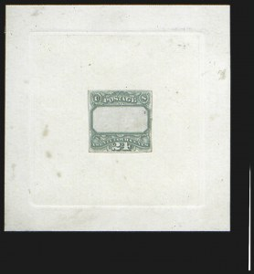 Sale Number 816, Lot Number 1486, 24c 1869 Pictorial Issue Essays24c Green, Frame Die Essay on India (120-E3c), 24c Green, Frame Die Essay on India (120-E3c)
