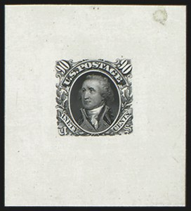 Sale Number 816, Lot Number 1520, 90c 1869 Pictorial Issue Essays90c Black, Large Die Essay on India (122-E5a), 90c Black, Large Die Essay on India (122-E5a)