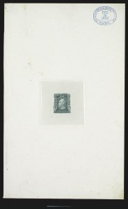 Sale Number 816, Lot Number 1585, 1c-6c Continental Bank Note Co. Issue Unadopted Essays1c Green, Large Die Essay on India (145-E1a), 1c Green, Large Die Essay on India (145-E1a)