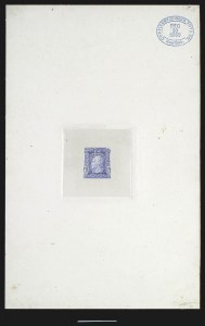 Sale Number 816, Lot Number 1586, 1c-6c Continental Bank Note Co. Issue Unadopted Essays1c Ultramarine, Large Die Essay on India (145-E1a), 1c Ultramarine, Large Die Essay on India (145-E1a)