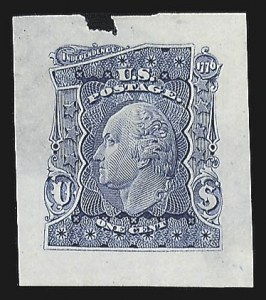 Sale Number 816, Lot Number 1589, 1c-6c Continental Bank Note Co. Issue Unadopted Essays1c Blue, Large Die Essay on India (145-E1a), 1c Blue, Large Die Essay on India (145-E1a)