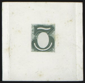 Sale Number 816, Lot Number 1596, 1c-6c Continental Bank Note Co. Issue Unadopted Essays3c Green, Frame Only, Hybrid Large Die Essay on India (147-E1A var), 3c Green, Frame Only, Hybrid Large Die Essay on India (147-E1A var)