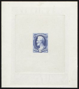 Sale Number 816, Lot Number 1628, 6c-7c National Bank Note Co. Issue Essays6c Lincoln, Large Die Essay on India (148-E11), 6c Lincoln, Large Die Essay on India (148-E11)
