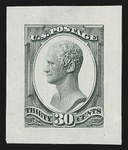 Sale Number 816, Lot Number 1676, Continental, American Bank Note Co. Essays30c Hamilton, Continental Die Essay on Proof Paper (190-E3a), 30c Hamilton, Continental Die Essay on Proof Paper (190-E3a)