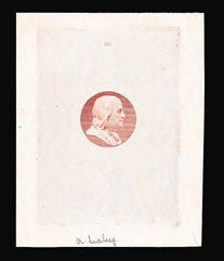Sale Number 816, Lot Number 1688, Continental, American Bank Note Co. Essays[10c] Franklin, Vignette Only, Die Essay on Glazed Paper (209-E4b), [10c] Franklin, Vignette Only, Die Essay on Glazed Paper (209-E4b)
