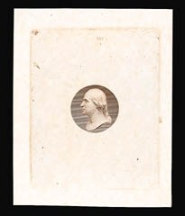 Sale Number 816, Lot Number 1690, Continental, American Bank Note Co. Essays[10c] Washington, Vignette Only, Die Essay on White Ivory Paper (209-E6b), [10c] Washington, Vignette Only, Die Essay on White Ivory Paper (209-E6b)