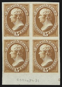 Sale Number 816, Lot Number 1743, Bank Note Plate Proofs (section c)6c-90c 1873 Issue, Plate Proofs, Trial Color Proofs (159TC1/166P4), 6c-90c 1873 Issue, Plate Proofs, Trial Color Proofs (159TC1/166P4)