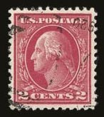 Sale Number 821, Lot Number 1127, 1912-23 Washington-Franklin Issues (Scott 498 to 546)2c Deep Rose, Ty. Ia (500), 2c Deep Rose, Ty. Ia (500)