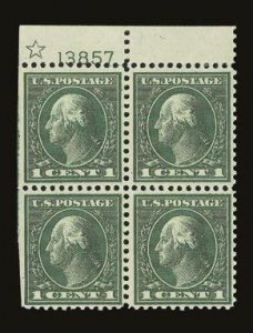 Sale Number 821, Lot Number 1173, 1912-23 Washington-Franklin Issues (Scott 498 to 546)1c Green, Rotary (545), 1c Green, Rotary (545)