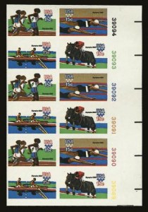 Sale Number 821, Lot Number 1247, Modern Freaks and Errors (1794a to 2833b)15c 1980 Summer Olympics, Imperforate (1794a), 15c 1980 Summer Olympics, Imperforate (1794a)