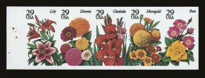 Sale Number 821, Lot Number 1259, Modern Freaks and Errors (1794a to 2833b)29c Garden Flowers, Imperforate (2833b), 29c Garden Flowers, Imperforate (2833b)