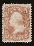 Sale Number 821, Lot Number 430, 1867-68 Grilled Issue (E and F Grills)3c Red, F. Grill (94), 3c Red, F. Grill (94)