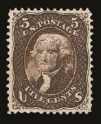 Sale Number 821, Lot Number 432, 1867-68 Grilled Issue (E and F Grills)5c Brown, F. Grill (95), 5c Brown, F. Grill (95)