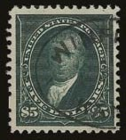 Sale Number 821, Lot Number 778, 1894-98 Bureau Issues (Scott 264 - 283)$5.00 Dark Green (278), $5.00 Dark Green (278)