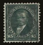 Sale Number 821, Lot Number 779, 1894-98 Bureau Issues (Scott 264 - 283)$5.00 Dark Green (278), $5.00 Dark Green (278)