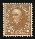 Sale Number 821, Lot Number 784, 1894-98 Bureau Issues (Scott 264 - 283)10c Orange Brown, Ty. II (283), 10c Orange Brown, Ty. II (283)
