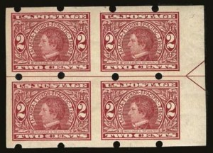 Sale Number 821, Lot Number 885, Private Vending and Affixing Machine Perforations2c Alaska-Yukon, Brinkerhoff Ty. II, Coiled Endwise (371 II), 2c Alaska-Yukon, Brinkerhoff Ty. II, Coiled Endwise (371 II)
