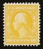 Sale Number 821, Lot Number 963, Bluish Papers10c Yellow, Bluish (364), 10c Yellow, Bluish (364)