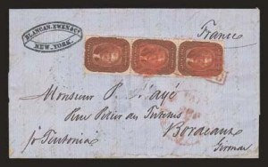 Sale Number 824, Lot Number 122, 1857-60 Issue5c Orange Brown, Ty. II (30), 5c Orange Brown, Ty. II (30)