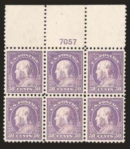Sale Number 824, Lot Number 314, Washington-Franklin Issues50c Violet (440), 50c Violet (440)