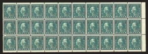 Sale Number 824, Lot Number 321, Washington-Franklin Issues1c Green, A.E.F. Booklet Pane (498f), 1c Green, A.E.F. Booklet Pane (498f)