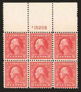 Sale Number 824, Lot Number 323, Washington-Franklin Issues2c Deep Rose, Ty. Ia (500), 2c Deep Rose, Ty. Ia (500)