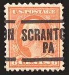 Sale Number 824, Lot Number 324, Washington-Franklin Issues6c Red Orange, Perf 10 at Top (506a), 6c Red Orange, Perf 10 at Top (506a)