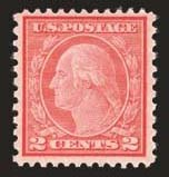 Sale Number 824, Lot Number 330, Washington-Franklin Issues2c Carmine Rose, Ty. II, Rotary (539), 2c Carmine Rose, Ty. II, Rotary (539)