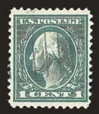 Sale Number 824, Lot Number 333, Washington-Franklin Issues1c Green, Rotary Perf 11 (544), 1c Green, Rotary Perf 11 (544)