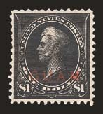 Sale Number 825, Lot Number 526, C.S.A., PossessionsGUAM, 1899, $1.00 Black, Ty. II (13), GUAM, 1899, $1.00 Black, Ty. II (13)