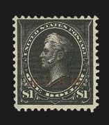 Sale Number 826, Lot Number 1017, U.S. PossessionsGUAM, 1899, $1.00 Black, Ty. II (13), GUAM, 1899, $1.00 Black, Ty. II (13)