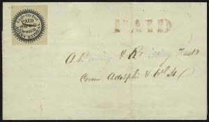 Sale Number 830, Lot Number 611, Eagle City Post (Philadelphia PA)Eagle City Post, Philadelphia Pa., (2c) Black (61L2), Eagle City Post, Philadelphia Pa., (2c) Black (61L2)