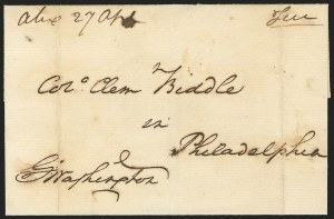 Sale Number 834, Lot Number 1, Presidential Autographs and Free FranksGeorge Washington, George Washington